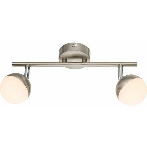 Luminaria de techo de LED de lujo para el comedor luz del haz proyector de carril ajustable Globo 56201-2