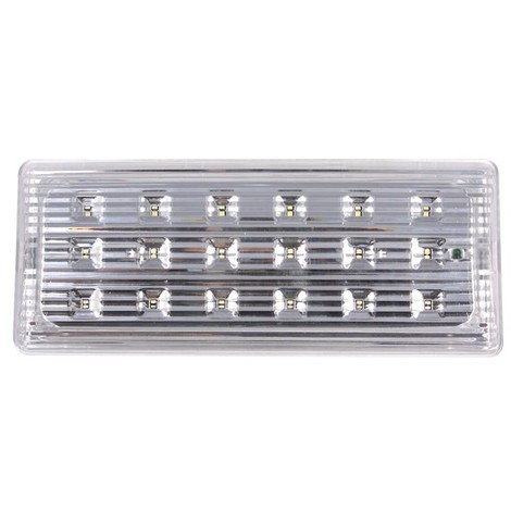 Luminaria Emergencia 18 Led 110X50X266 - EMERLIGHT - Il591018