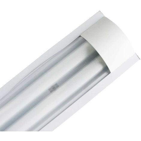 "main image of ""Luminaria Fluorescente 2x18W Tubos T8 G13"""