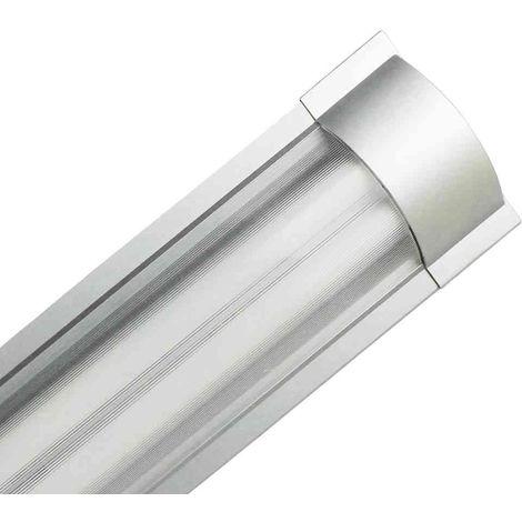 Luminaria Fluorescente 2x18W Tubos T8 G13