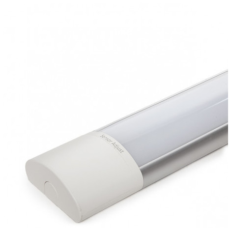Luminaria LED Lineal Superfice 1500Mm 60W 120Lm/W 30.000H Detector Movimiento | Blanco Natural (SL-L3L-CDT432L60-120-D-W)