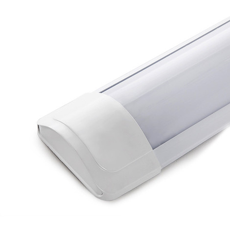 Luminaria LED Lineal Superficie 600Mm 18W 1800Lm 30.000H