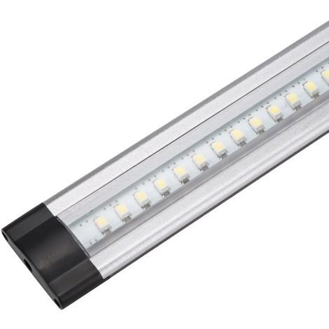 Luminaria LED Plana Estanterías 30Cm 3W 30.000H | Blanco Frío (KS-CL03C-3W-A-CW)
