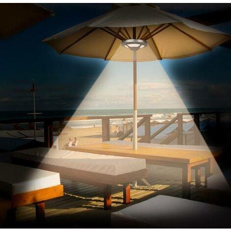 Luminaria LED recargable para sombrillas 150 Lumens, 5V