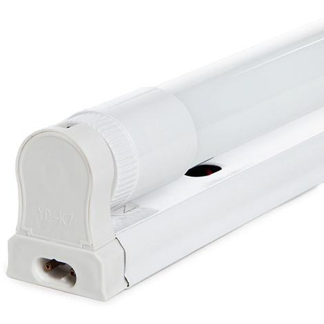 Luminaria LED T8 con Tubo LED Cristal 120Cm 20W 1800Lm 25.000H (RL-T8DG20W-CW)