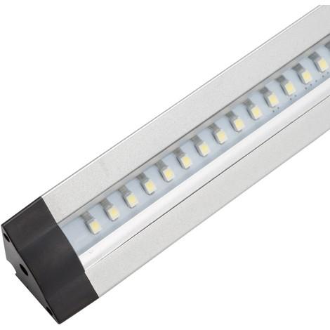 Luminaria LED Triangular Estanterías 30Cm 3W 30.000H | Blanco Frío (KS-CL03C-3W-B-CW)