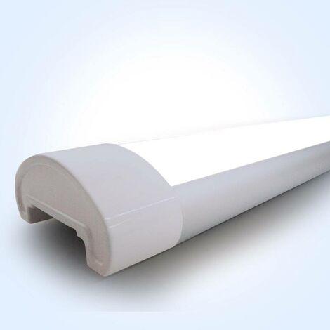 Luminaria lineal LED 120cm 40W 3500lm IP40