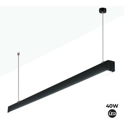 "main image of ""Luminaria lineal LED de suspensión 120cm 40W 3400lm"""