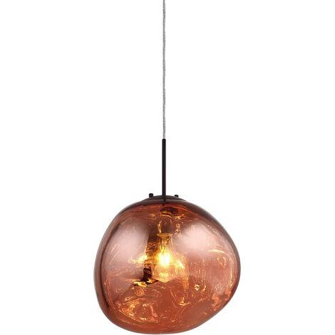 Lumineca Lampe Suspension Rouge Dotent - 50231021670699