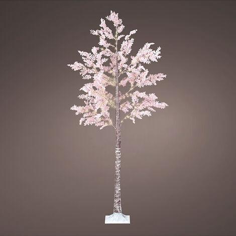 """main image of """"LUMINEO Arbol micro led flores rosas ip44 210cm 270l"""""""
