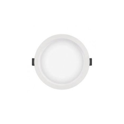 Luminiaire Downlight Slim - Blanc - 4000K - DN210 - Radium