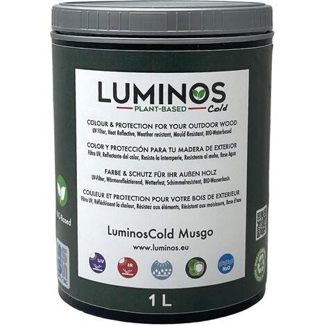 Luminos Cold - LUM1152 - MUSGO - Lasur Protector reflectante IR. Color Verde. 1L