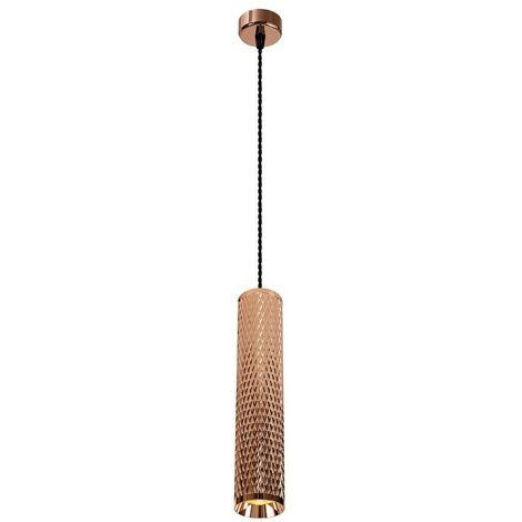 Luminosa Lighting - 1 Light 11cm Ceiling Pendant Light GU10, Rose Gold