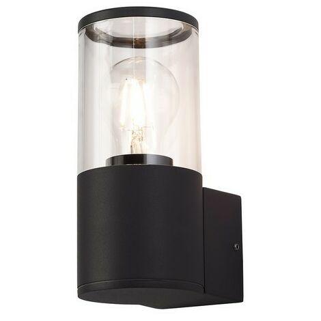 Luminosa Lighting - Wall Lamp 1 x E27, IP54, Anthracite, Clear
