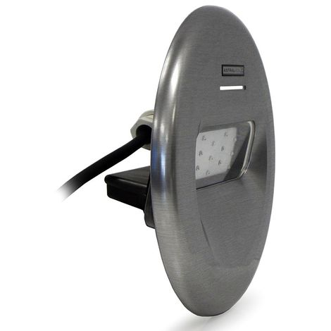LumiPlus Design foco proyector LED Luz blanca Inox - Cod: 59805