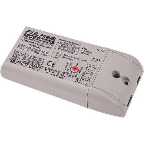 Lumotech L05016i LED Driver 20W 3-33V 250-1000mA 1-10V Dimmable