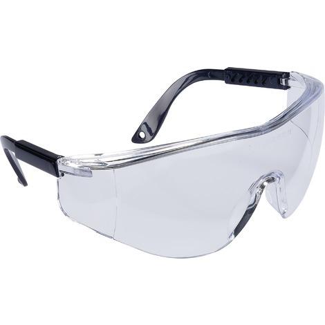 8c17149dee42c Lunette de protection à branche nylon oculaire polycarbonate anti-rayures  Outibat - Incolore
