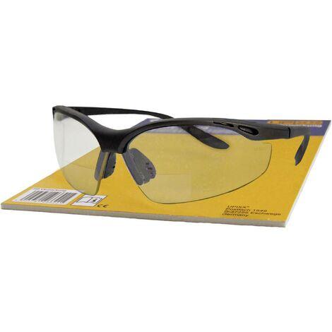 Lunette de protection L+D Upixx LETTURA Bifocal 26702SB-1.5 noir DIN EN 166 1 pc(s)