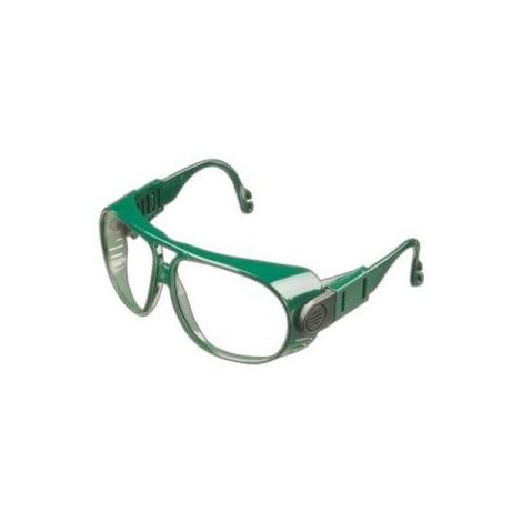 Lunettes 692, PC incolore , Cadres vert