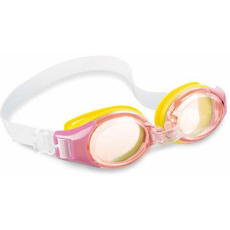 Lunettes de piscine enfant Intex Junior - Rose - Rose