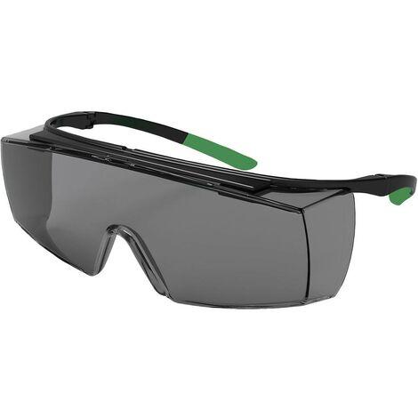 Lunettes de protection Uvex 9169543 noir, vert DIN EN 166-1, DIN EN 169 1 pc(s)