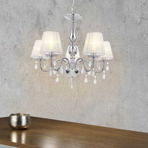 Lustre Plafonnier Lampe de Plafond Aluminium Plastique