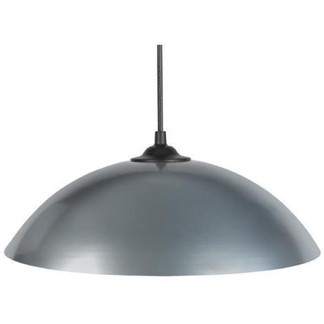 Lustre - suspension Demi-lune E27 25 W Ø29.5 cm Gris Tosel