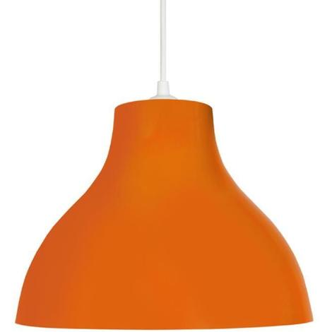 Lustre - suspension E27 25 W Ø29.5cm Orange Tosel