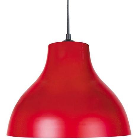 Lustre - suspension E27 25 W Ø29.5cm Rouge Generique