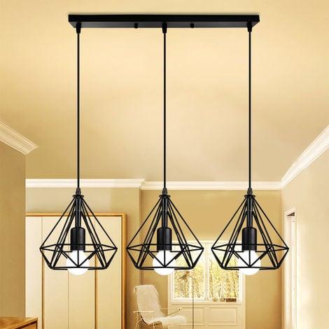 chic luminaire suspendu vert 2x E27 Moderne Lampe suspendue NEUF intérieur