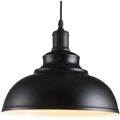 Lustre Suspension Industrielle Vintage E27 290mm Lampe ...
