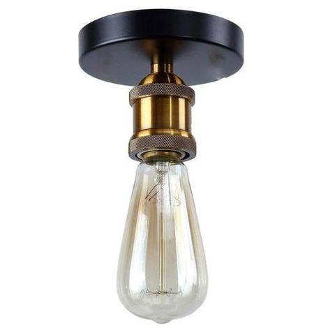 Lustre Suspension Vintage E27 40W Style Industrielle Luminaire Eclairage