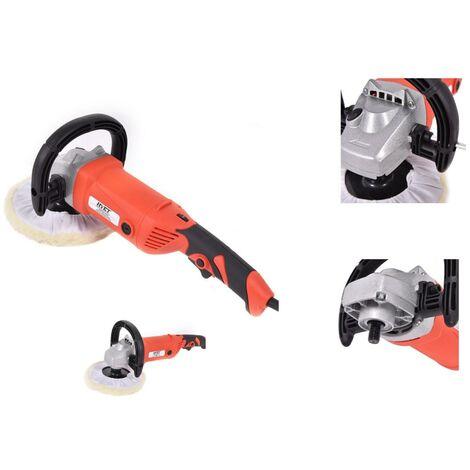 Lustreuse / Polisseuse rotative 1500W 1000-3200 rpm avec accesoires