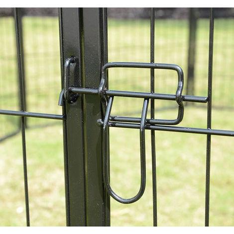 Luxe Parc Enclose Fence Pour Chiens, Cuccioli H 60 X 80 X 8 Cm