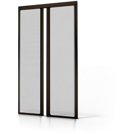Luxe Roller Fly Screen for Double Doors - Recess Fit