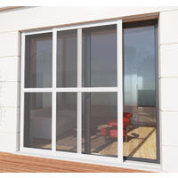 Luxe Sliding Fly Screen for Patio Doors - Recess Fit