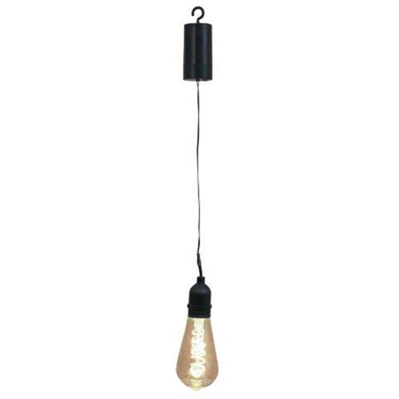 Image of Battery LED Garden Bulb Pulse - Black - Luxform