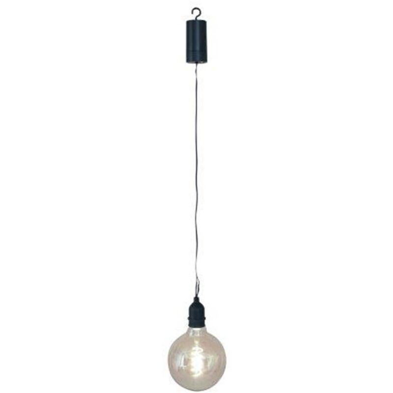 Image of Battery LED Garden Bulb Volta - Black - Luxform