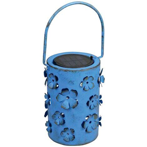 Luxform Farol solar LED para jardín Daisy azul 8 lúmenes 29113 - Azul