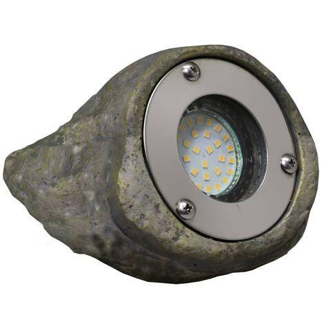 Luxform Lámpara LED de jardín Tatra gris piedra - Gris