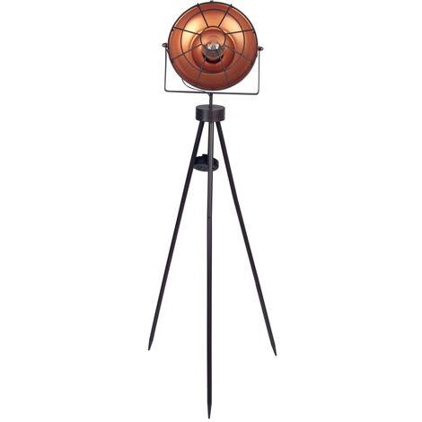 Luxform Lámpara LED solar de estudio para jardín Dresden - Marrón
