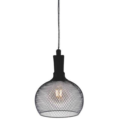 Luxform Lámpara LED solar de techo para jardín Jazz - Negro