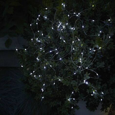 Luxform Lámpara solar LED de jardín Micro Softtone Sevilla - Plateado