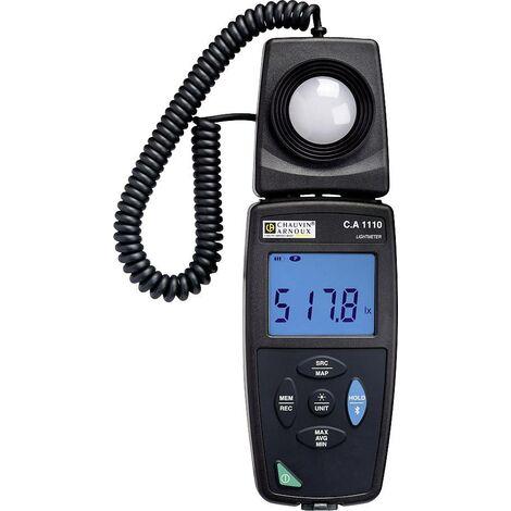 Luxmètre C.A 1110 + enregistreur de données Chauvin Arnoux P01654110 S028501