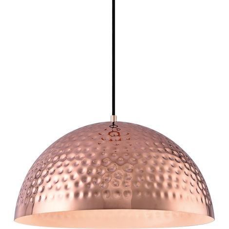 [lux.pro]® Lámpara colgante metal negra [Ø40cm]