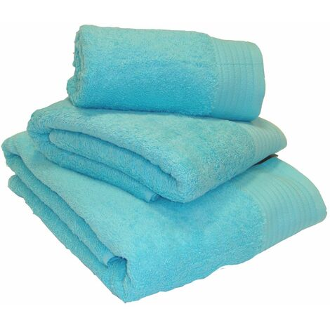 Luxury 100% Egyptian Cotton Turquoise Towels Bath Towel