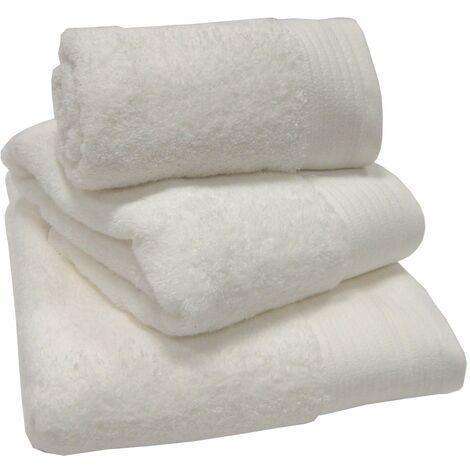Luxury 100% Egyptian Cotton White Towels Bath Mat 50x100cm