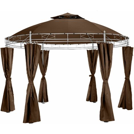 Luxury gazebo 350 cm Siana - garden gazebo, camping gazebo, party gazebo