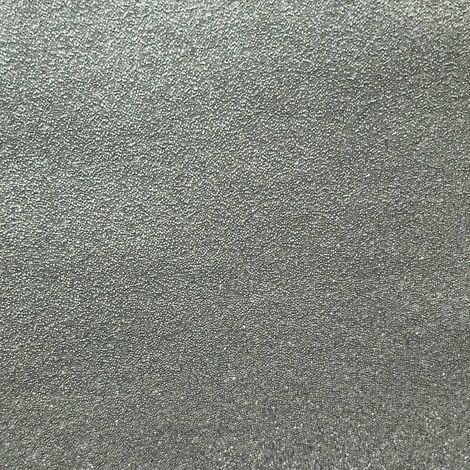 Luxury glass beads wall covering WallFace CBS16 CRYSTAL non-woven wallpaper hand-crafted with real glass beads shiny silver-grey 2.45 m2