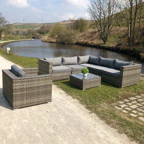 Luxury Grey Rattan Corner Sofa Set P 3218096 11631664 1 Jpg